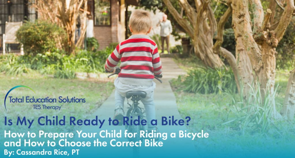 when is my child ready to ride a bike