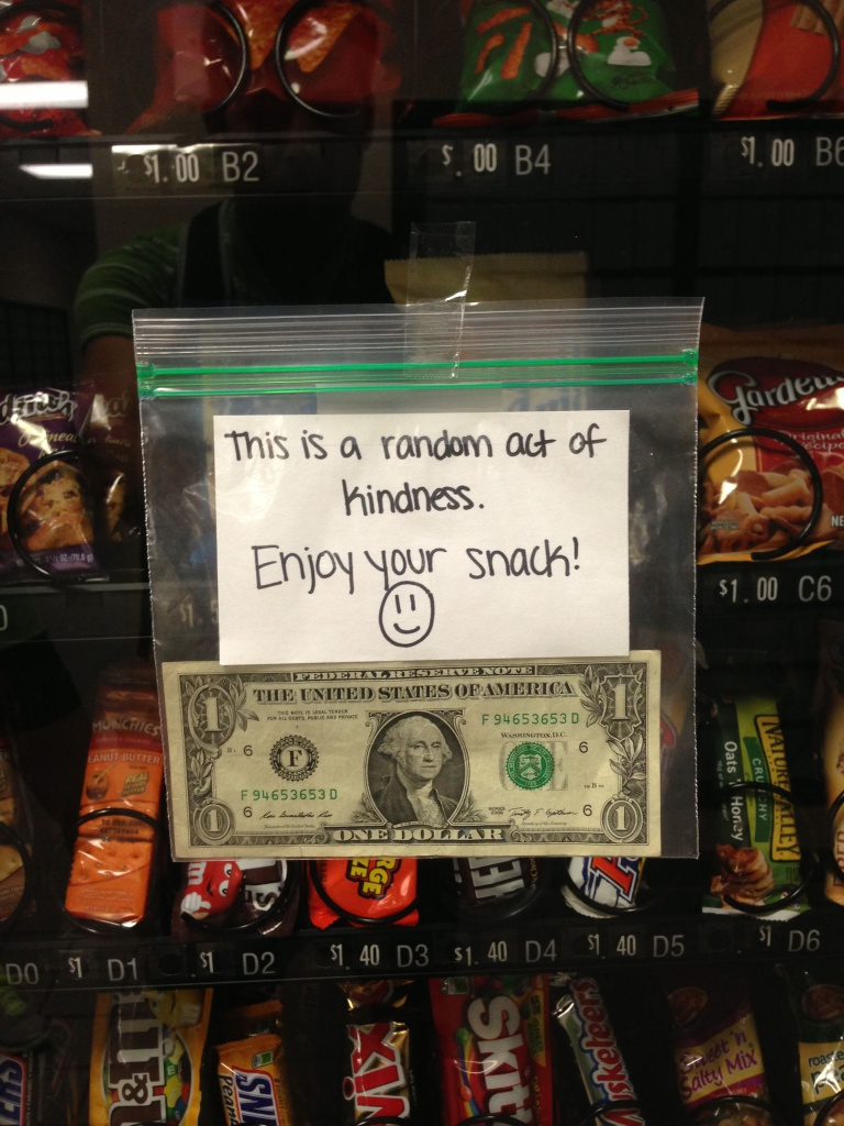 change in vending machine